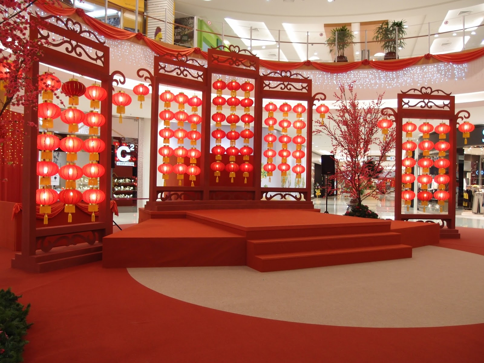 Chinese New Year Classroom Decoration Ideas ~ Xing fu chinese new year decorations at aeon sitiawan