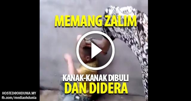 VIDEO: ZALIM !!! Kanak-Kanak kecil dibuli dan dicucuh dengan rokok!..