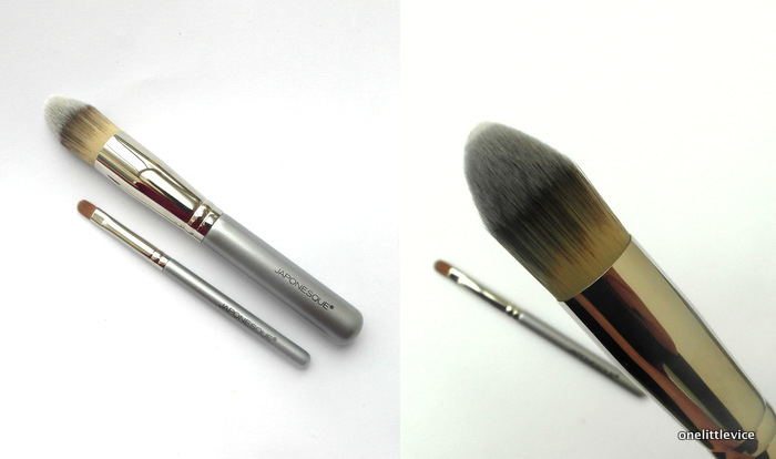 One Little Vice Beauty Blog: Japonesque Makeup Brushes Review