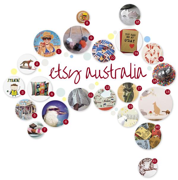 I heart etsy australia