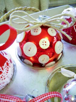 Ideias de Bolas de Árvores de Natal