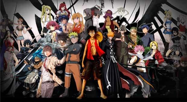 10 tokoh anime yang memiliki kekuatan mata