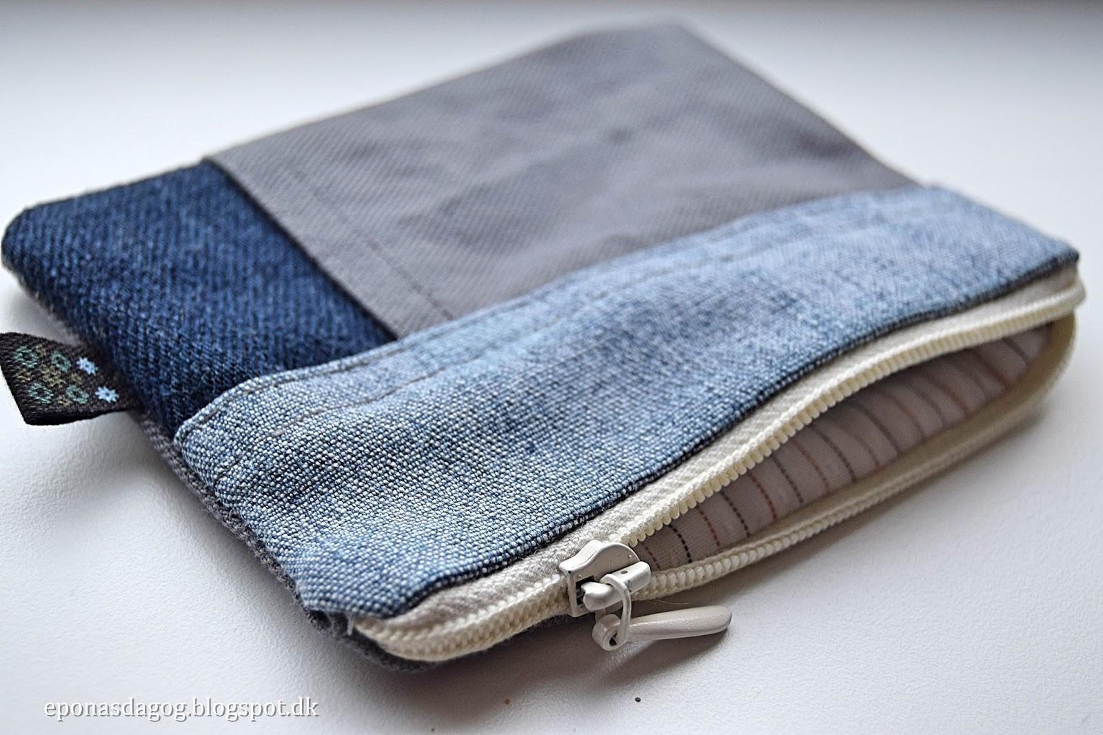 Guide: Sådan syes lynlås og foer i en pung eller lille taske