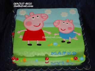Torta Pepa prase - najlepse decije torte