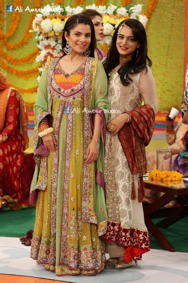 Nida yasir dresses 2013