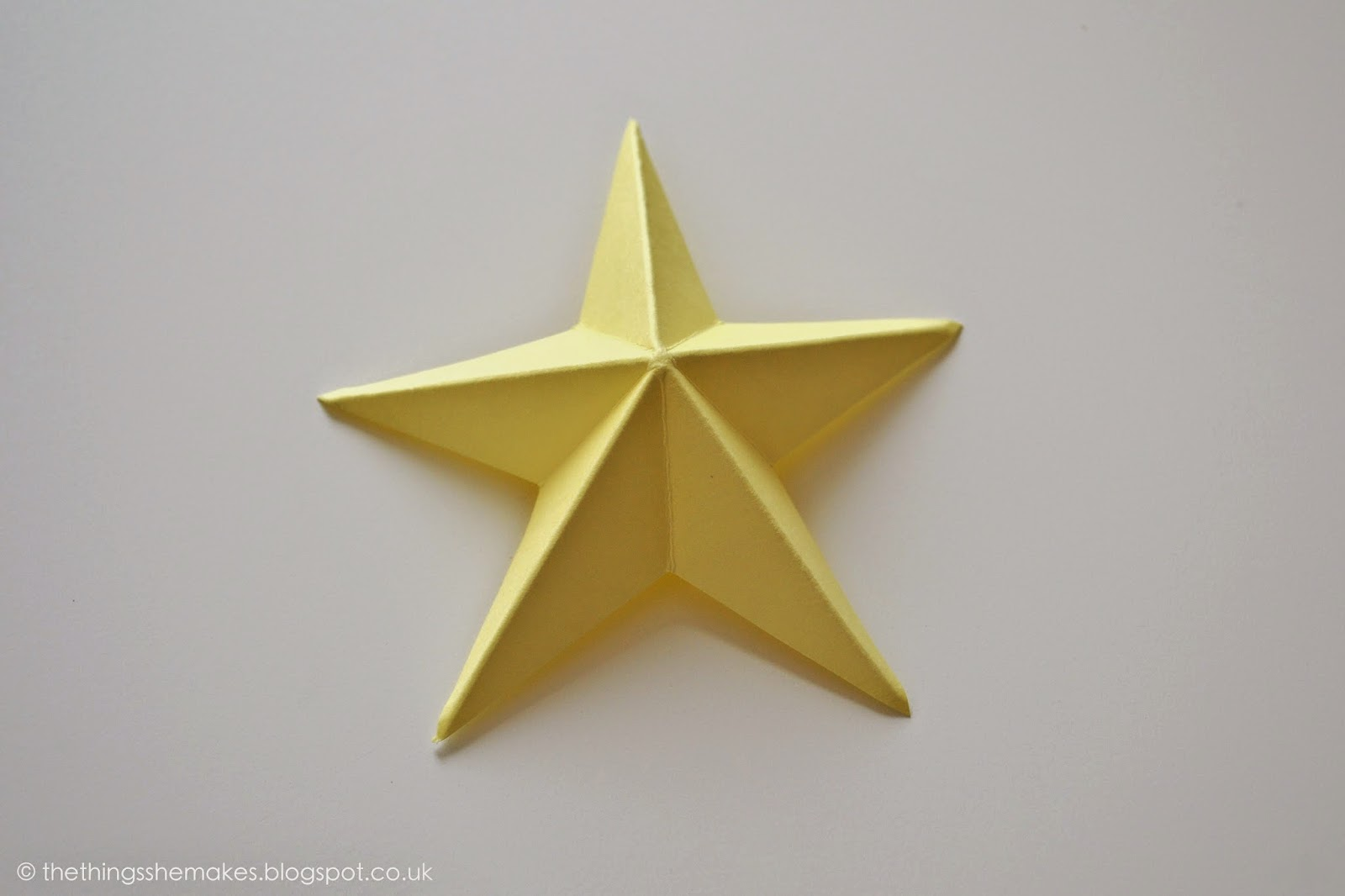 how to make a big paper star