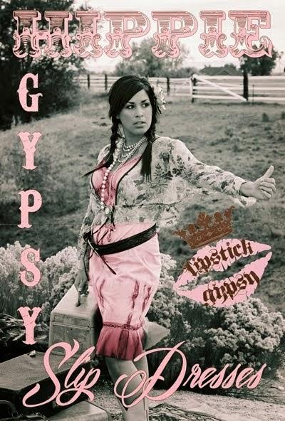 LG Shabby Gypsy Slips