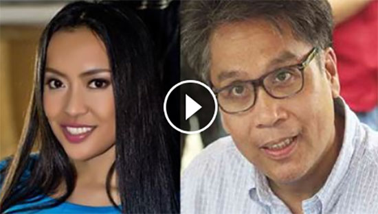 Mocha girls leader attack LP presidential candidate - 'P.I. Ka MAR ROXAS!'