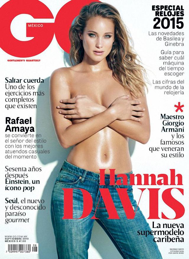Hannah Davis en topless GQ Magazine