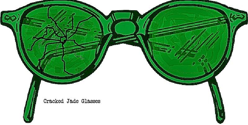 Cracked Jade Glasses