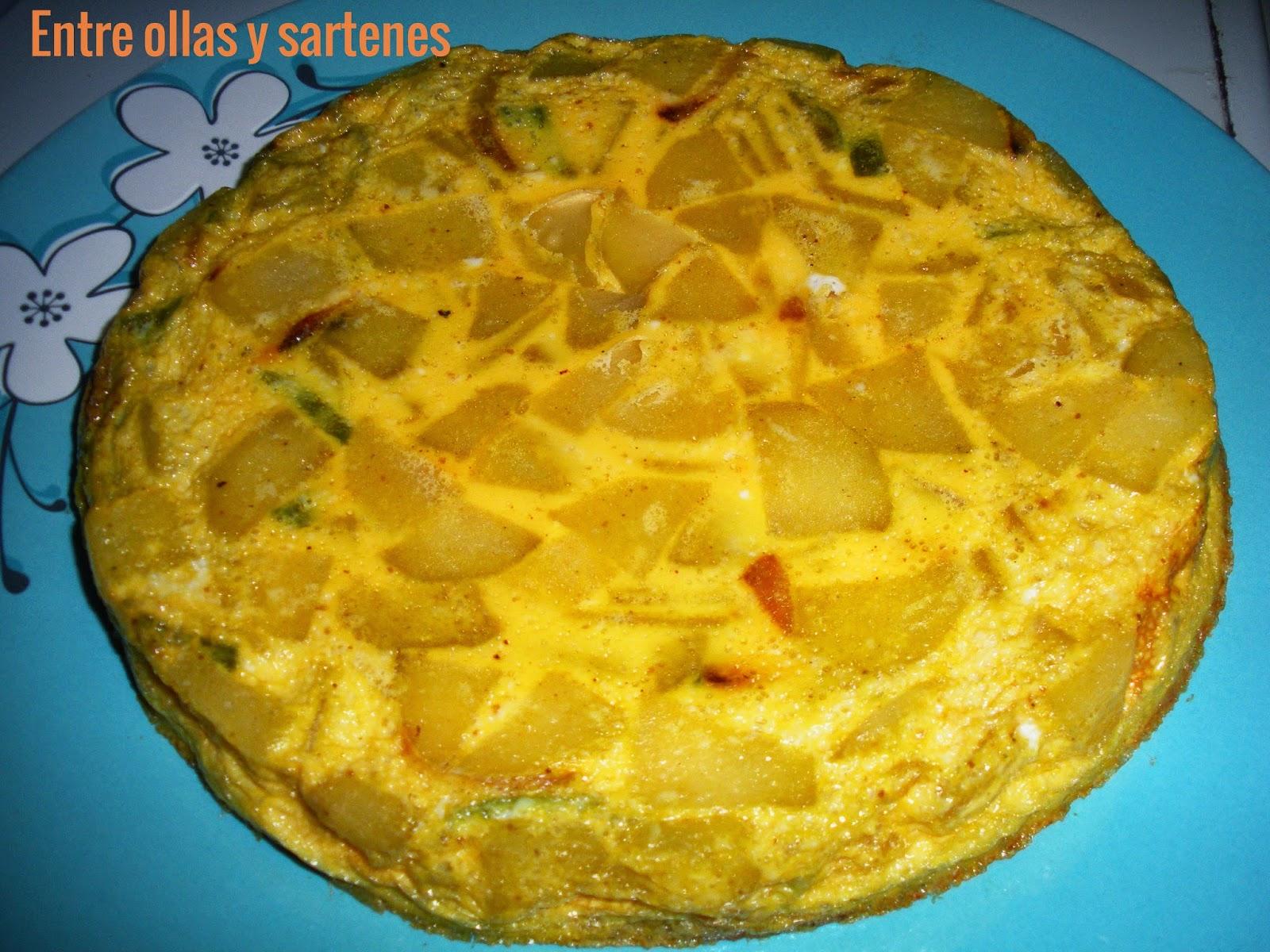 Entre ollas y sartenes tortilla espa ola al horno - Sartenes para tortilla ...