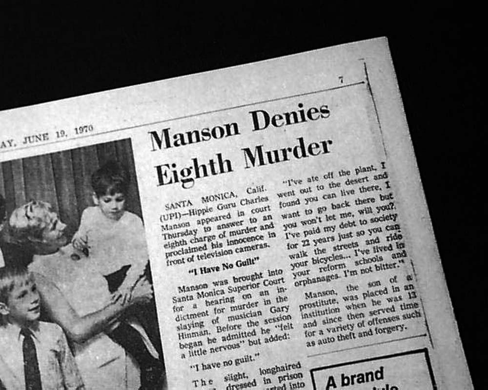 charles manson essays kayte hardison psychology russ lewis november 14, 2014 charles manson charles manson was born on november 12, 1934, in cincinnati, ohio his mother, kathleen.