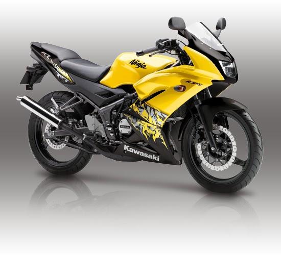Kawasaki Ninja 150 RR Kuning
