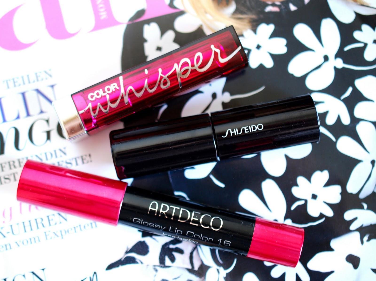 Meine Top 3 Sommer Lippenstifte 2014