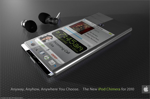 iPod Chimera Apple Concept