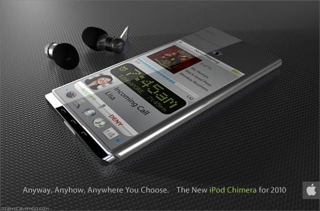 iPod Chimera Apple Concept