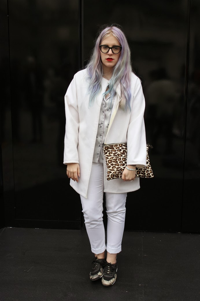pastel hair blogger
