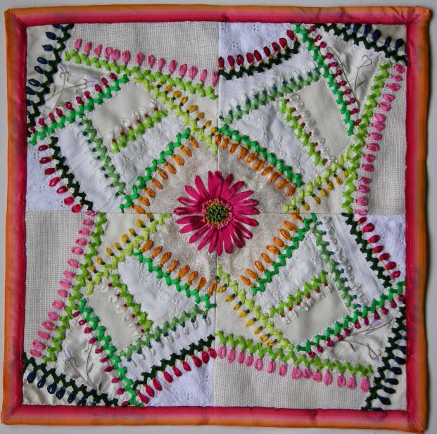 Allies In Stitches Pretty Crazy In Riversilks Ribbon