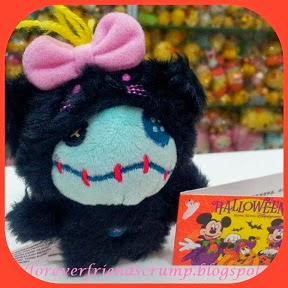 2008 HKDL HALLOWEEN BLACK CAT SCRUMP