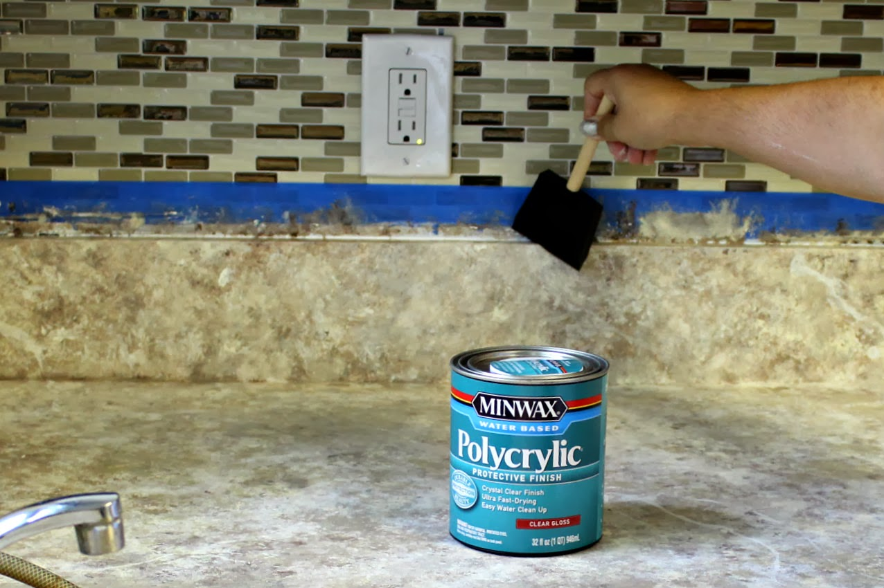 Can you use latex paint over oil based paint -  Over Oil Based Paint I Really Wanted To Use A Bartop Epoxy That You Pour On But Frankly I Used What I Had And Since I M Hoping These Counters Won T Be