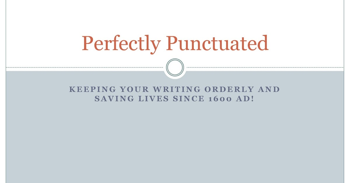 Essay On Punctuation