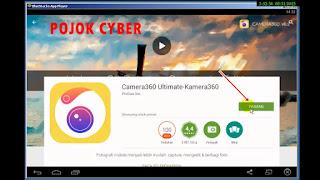Pasang atau download aplikasi dari playstore