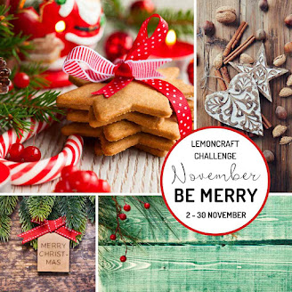 Lemoncraft November challenge - BE MERRY