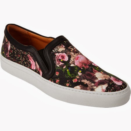 floral print slip on sneakers, trend 2014,
