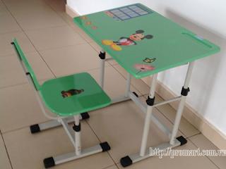 Bộ bàn ghế học sinh BHS-13-05PU