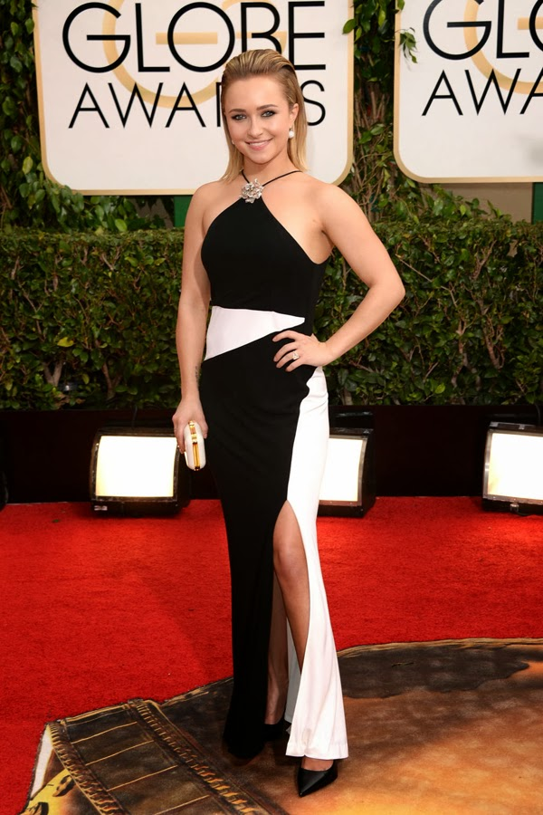 2014 Golden Globes Hayden Panettiere in Tom Ford