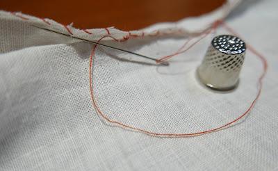 Técnicas de costura : punto escondido