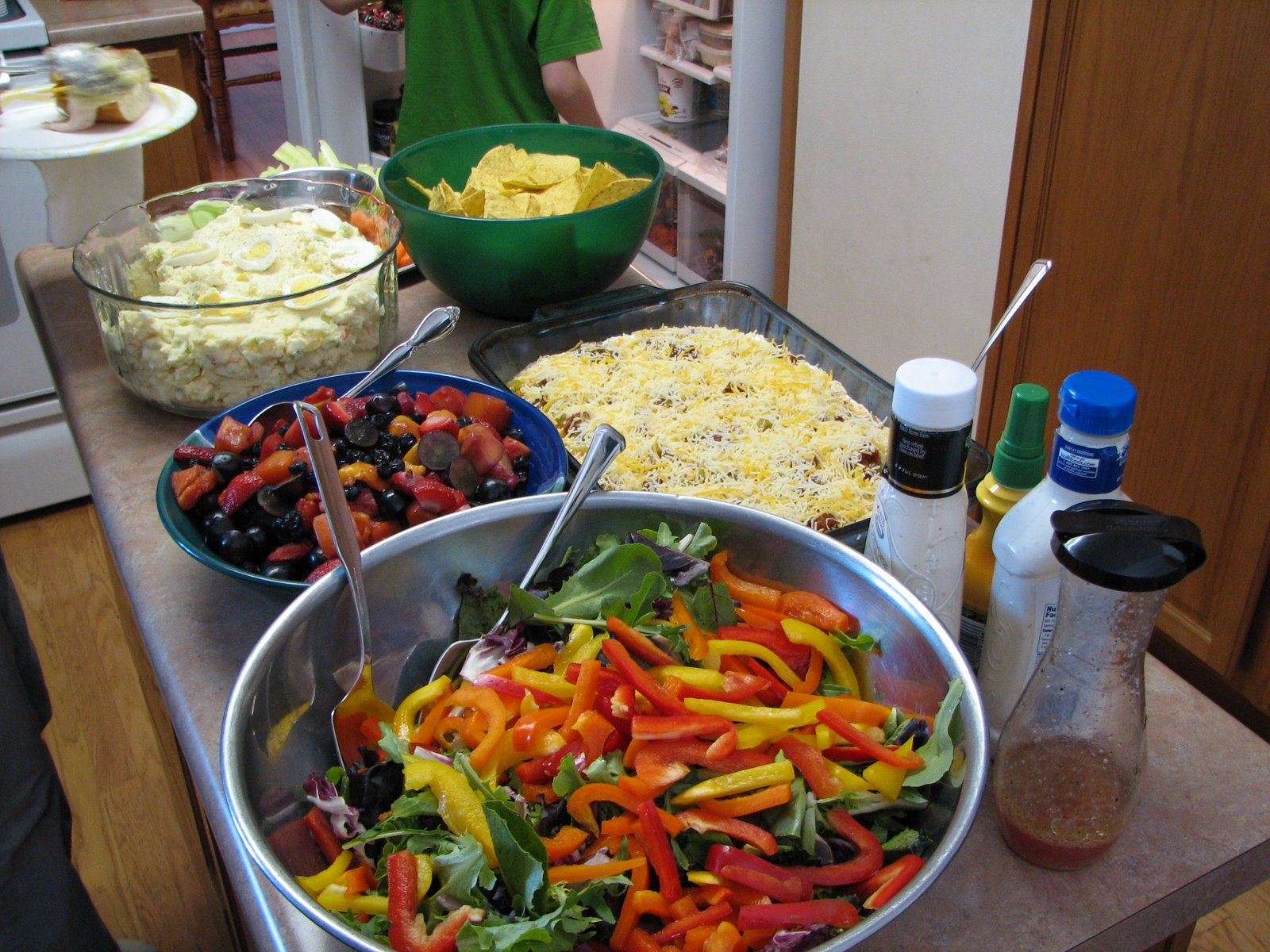 Catholic cuisine recipes for easter pentecost from the for Food bar on church