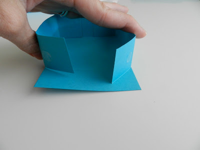 Little Blue Favor Box