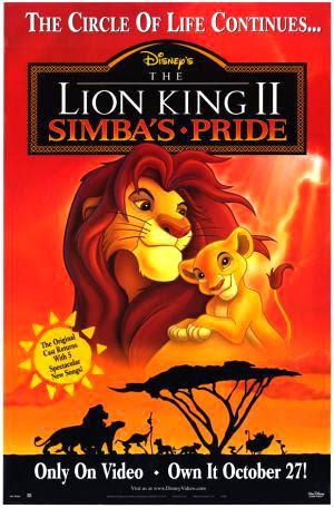 El Rey León 2 El tesoro de Simba 1998 Online Latino