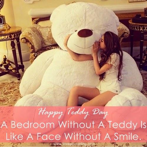 Happy Valentine Teddy Bear Day SMS