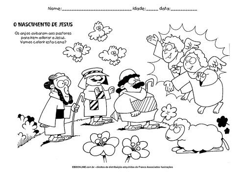 evangeliza natal atividades desenhos presepio jose e autoevangeliza natal atividades desenhos presepio jose e