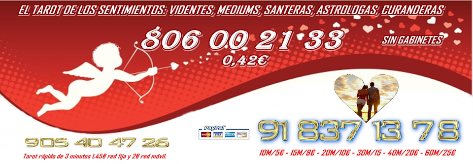 Tarot económico 5€ - Videncia económica, fiable, buenas Videntes telefónico