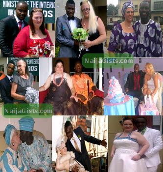 nigerian men married oyinbo pictures