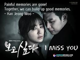 Missing You is a 2012 South Korean television series, starring Yoon Eun-hye, Park Yoochun and Yoo Seung-ho. High school sweethearts Jung-woo and Soo-yeon were separated in a horrifying tragedy that...