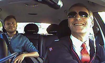 Perdana Menteri Norway Menyamar Menjadi Pemandu Teksi