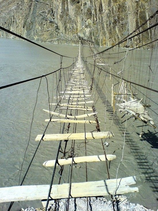 Most Dangerous Rope Bridge