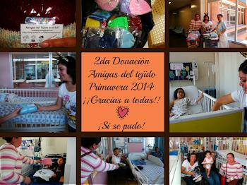 2da Donación 2014