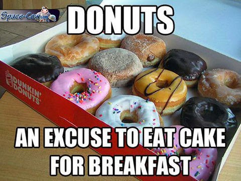 funny things donuts picture