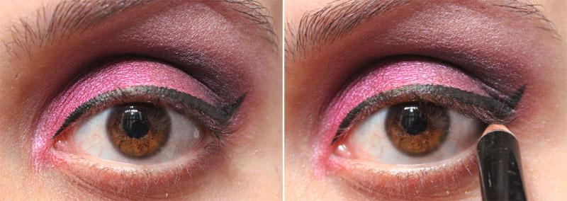 7 Tutorial de Maquiagem: Rosa e Roxo   Pink Gloss