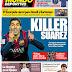 Killer Suárez, Simeone hasta 2020: las portadas