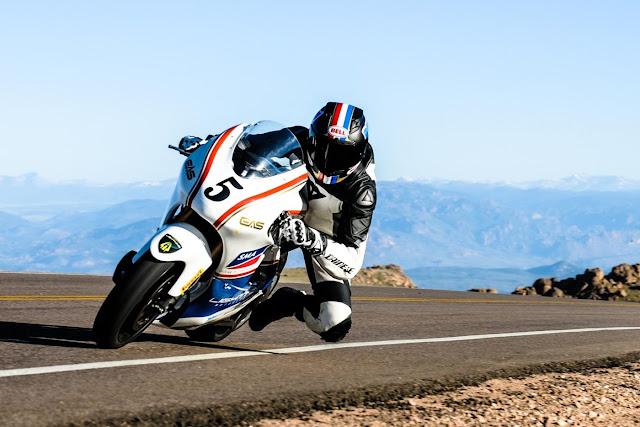 Lightning Motorcycles gana Pikes Peak