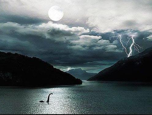 Un pescador retirado descubre una grieta enorme en el lago Ness Ness4