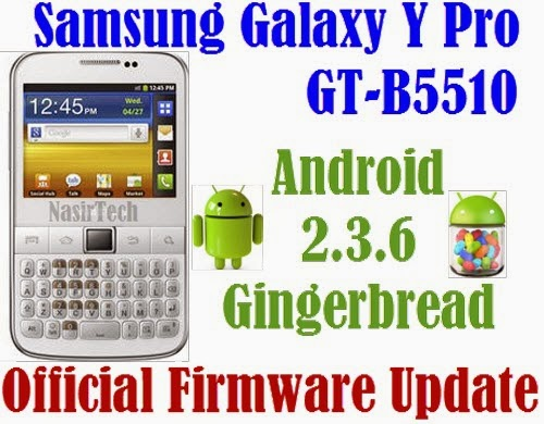 If your Galaxy Y Pro already running on Android 2.3.6 GB, you can only