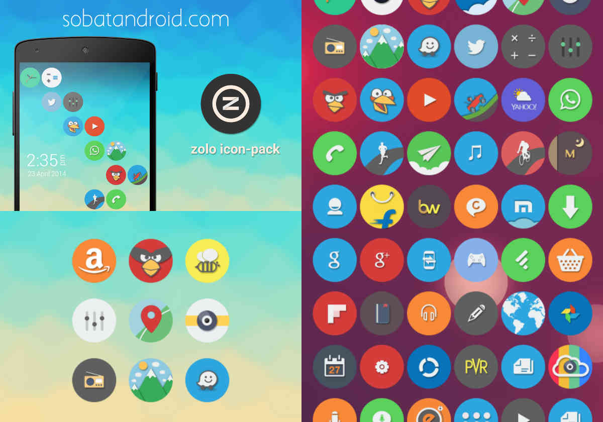 5 Icon Packs Gratis Terbaik untuk ASUS Zenfone