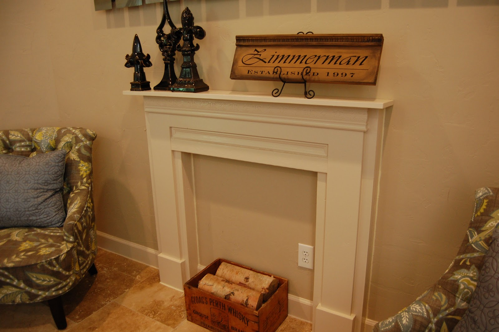 testosterhome project faux mantel